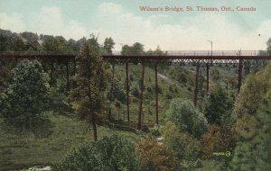 ST. THOMAS, Ontario, Canada, 1900-1910's; Wilson's Bridge