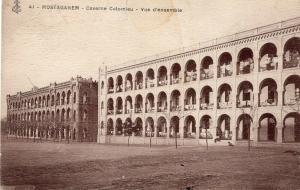 Military WW1 Mostaganem Caserne Colomieu Vue d'ensemble 01.37