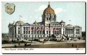 Postcard Old State Capital Little Rock Ark