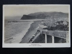 G.W.R. Official Great Western Railway TEIGNMOUTH c1912 RP Postcard