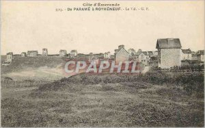 Postcard Old Emerald Coast From Parame has Rotheneuf Val