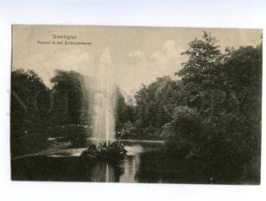 138752 Netherlands GRONINGEN Fountain South Park Vintage PC