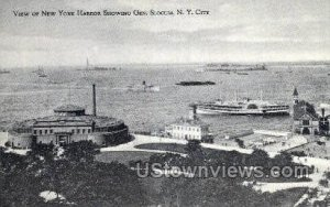 Harbor in New York City, New York