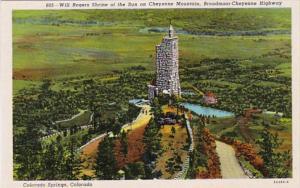 Colorado Colorado Springs Will Rogers Shrine Of The Sun Broadmoor Cheyenne Mo...