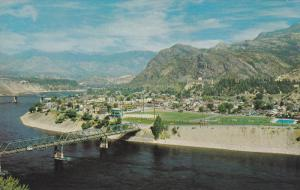 Air view , TRAIL , B.C., Canada , 50-60s