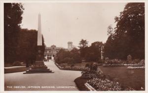 RP; The Obelisk, Jephson Gardens, Leamington, UK, 10-20s