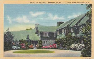 North Carolina Black Mountain In The Oaks Residence Of Mrs F S Terry Albertype