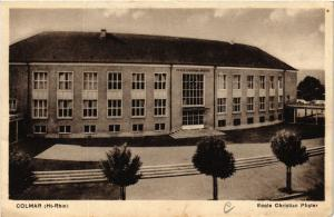 CPA AK Colmar (Hte-Rhin) - Ecole Christian Pfister (740176)