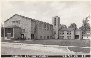 RP: WAUPUN , Wisconsin , 30-40s ; Emanuel Reformed Church