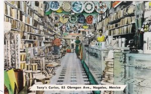 Mexico Nogales Tony's Curious Interior View sk3329