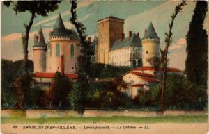 CPA Env. d'ANGOULEME - LAROCHEFOUCAULD - Le Chateau (654525)