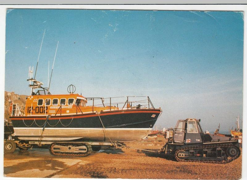 RNLI 'Mersey' Class Lifeboat No 12-002 'Sealink Endeavour', Hastings PPC