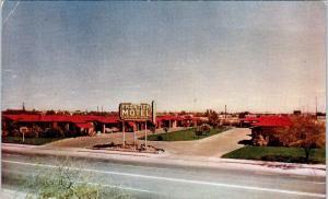 TUCSON, AZ Arizona    FRONTIER MOTEL   Hwy 80 & 89  c1950s  Roadside    Postcard