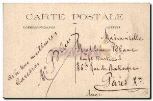 Old Postcard Carnival & # 39Aix Choir singing caps do so in Aix en Provence