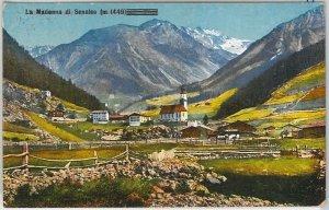 40753   CARTOLINA d'Epoca - BOLZANO - Madonna di Senales  1935