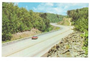 PA Turnpike NE Extension Carbon County Pennsylvania Postcard