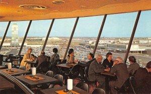 Los Angeles International Jet Age Air Terminal Airport c1950s Vintage Postcard