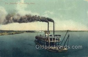 Josephine, Sioux City, Iowa, USA Ferry Boats, Ship Unused