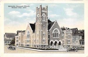 Churches Vintage Postcard Webster City, Iowa, USA Vintage Postcard Methodist ...