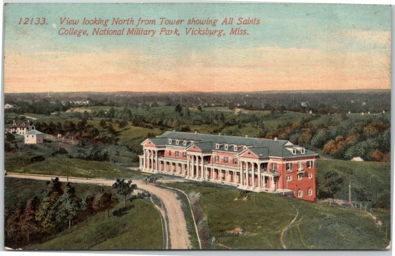 All Saints College, National Military Park - Vicksburg Mississippi