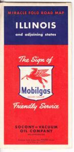 Illinois - Mobilgas - Socony 1950