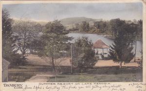DANBURY , Connecticut, PU-1906; Summer Resort on Lake Kenosia