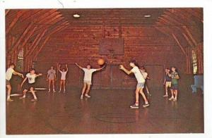 Basketball, Camp Notre Dame, Lake Spofford, Spofford, New Hampshire, 40-60s