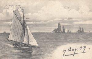Sail boats , 1909 ; TUCK 959