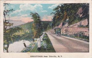 Greetings From Otisville New York