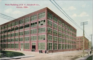 Ohio Akron Main Building B F Goodrich Company sk5134