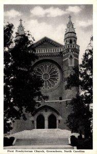 North Carolina Greensboro First Presbyterian Church 1943