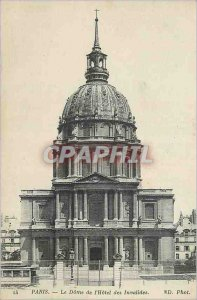Postcard Old Paris The Dome of the Hotel des Invalides