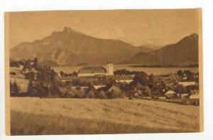 Mondsee Mit Schafberg, Austria, 1900-1910s
