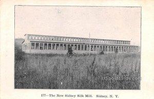 New Sidney Silk Mill - New York