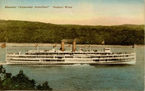 Hudson River Day Line - Steamer Alexander Hamilton