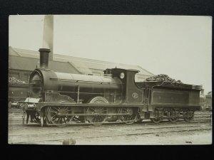 Railway H.& B.R. Hull & Barnsley Railway LOCOMOTIVE No.17 pre 1914 RP Postcard
