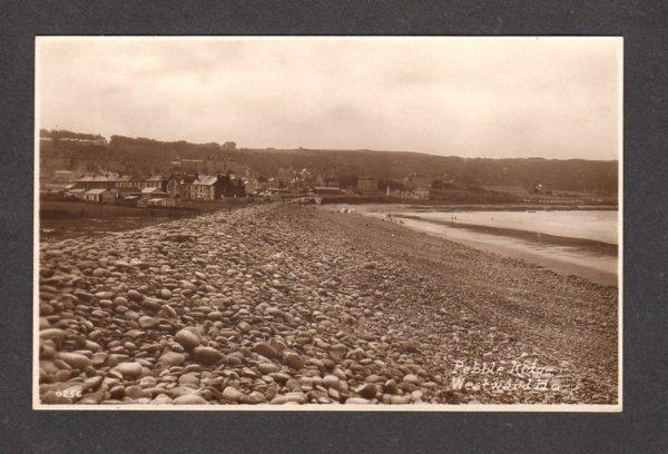 UK Pebble Ridge Westward Ho DEVON England United Kingdom Postcard Carte Postale
