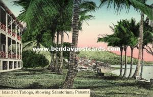 panama, Island of TABOGA, Sanatorium (1910s)