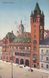 BASEL, Switzerland, 1900-1910's; Rathaus