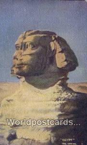 The Sphinx Eqypt  The Sphinx