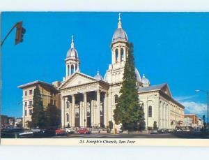 Unused Pre-1980 CHURCH SCENE San Jose California CA A6464