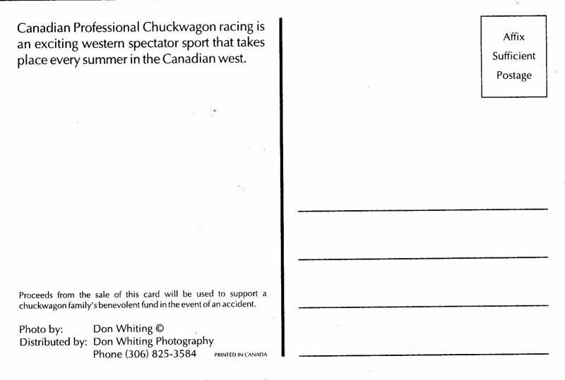 CANADA, 50-70s; Canadian Professional Chuckwagon racing