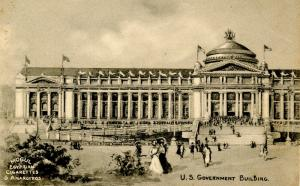 MO - St Louis. 1904 Louisiana Purchase Exposition. U.S. Government Building  ...