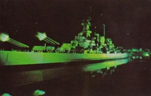 Sount & Light Spectacle U S S North Carolina Battleship Memorial Wilmington N...