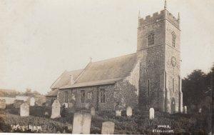 RP: STOKE FERRY , Norfolk , England , 1913 ; Church & Graveyard