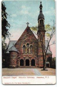 Marquard Chapel, Princeton University - Princeton, NJ - c1905 UDB Postcard