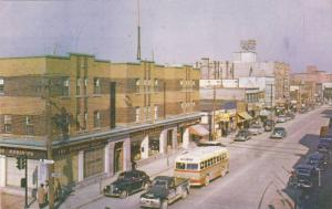 Main Street , ROUYN , Quebec , Canada , 50-60s