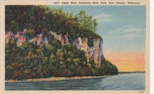 Wisconsin Door County Eagle Bluff Peninsula State Park 1959 Curteich