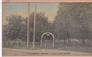 PUYALLUP, Washington, 00-10s; Scenic view, Pioneer Park