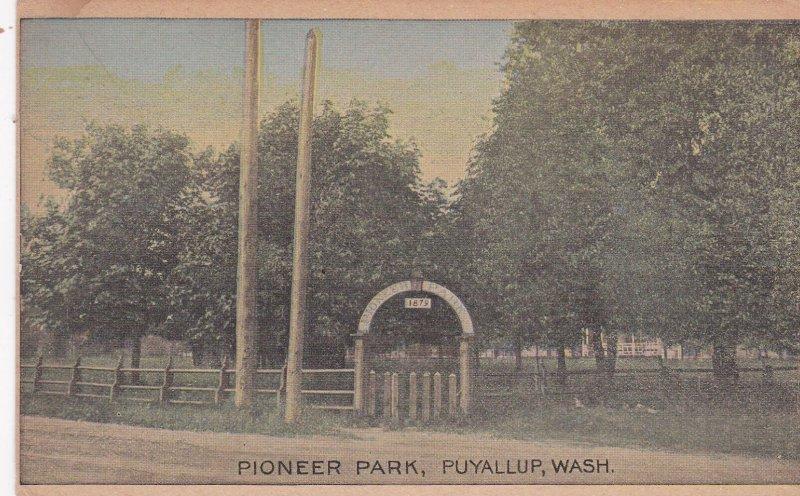 PUYALLUP, Washington, 00-10s; Scenic view, Pioneer Park